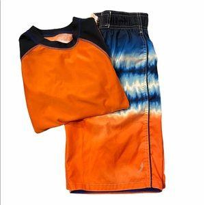 Boy's Exertek Swim Outfit Size M (10/12)